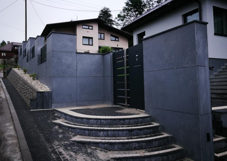 ogrodzenia aluminiowe producent alugate beton architektoniczny rfid videodomofon 1a 2