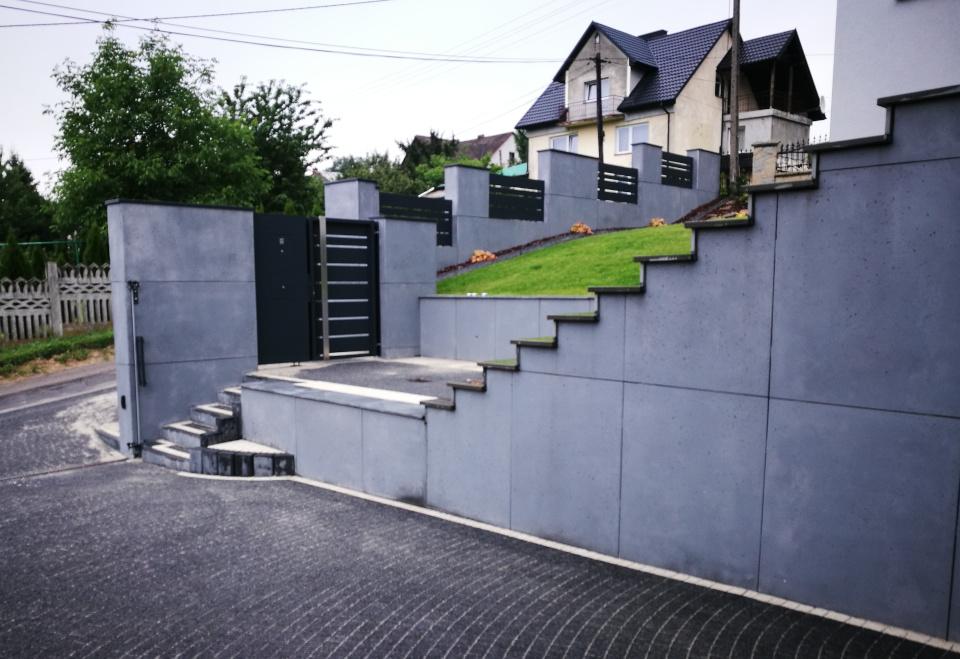 ogrodzenia aluminiowe producent alugate beton architektoniczny rfid videodomofon 1a 5