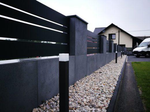 ogrodzenia aluminiowe producent alugate beton architektoniczny rfid videodomofon (1a)