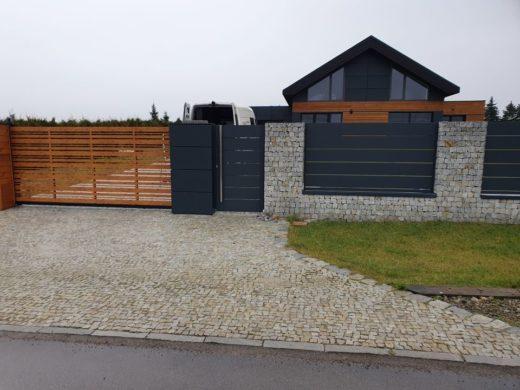 ALUgate ogrodzenie aluminiowe AG250 i CONFIGURE