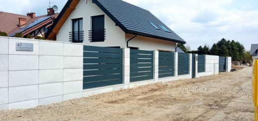 ogrodzenie aluminiowe ALUgate AG200 - BORDER 13