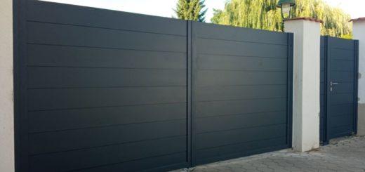 ALUgate ogrodzenie aluminiowe FULL 9
